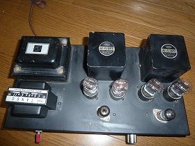 Power amplifier 6SN7parallelPP